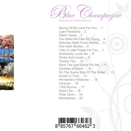 Blue Champagne: May Collection